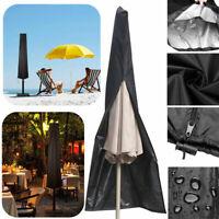 Sonnenschirm Schutzhülle Abdeckung Plane Ampelschirm Gartenschirm Schutzhaube