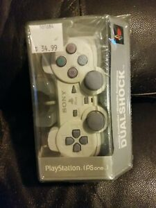 Sony PlayStation PS1 PS One Controller Dualshock OEM Authentic NEW SEALED PSOne