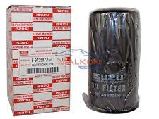 1 x ISUZU D-MAX  OEM OIL FILTER 8973587200.  Ref: Z600
