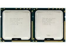 Matched Pair (2 CPUs) Intel Xeon X5680 Six-Core 3.33GHz 12MB Cache SLBV5