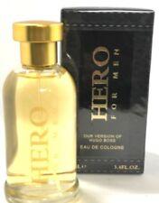 HERO FOR  MEN EAU DE COLOGNE TOILETTE PARFUM PERFUME 3.4 OZ