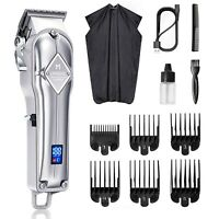 Limural Cordless Hair Clippers Rechargeable for Mens Hair Cutting Beard Trimmer