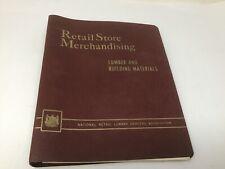 1950s Lumber & Building Materials Retail Store Merchandising Promo Binder