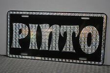 RETRO 1970'S PRISM PINTO METAL LICENSE PLATE FORD 70'S STREET FREAK ROUNDABOUT