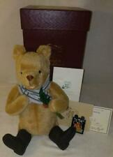 LM R. John Wright Holiday Winnie The Pooh Disney Mohair Teddy Bear LE Jointed NW