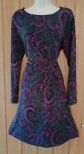 PER UNA SIZE 16 18 Beautiful Ladies Paisley Patterned Stretchy Dress Ref 11