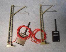 Marklin HO Catenary Feeder Masts 7512 For K Track (2 Pieces)