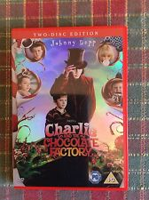 Charlie And The Chocolate Factory (2 DVD Set) Johnny Depp Freddie Highmore