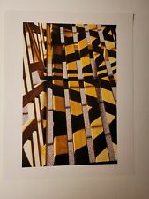 "Abstract ART PHOTOGRAPHY Discovered Vintage Estate Photographer 14"" x 11"" COLOR"