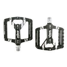 "Aluminum Bicycle Pedals 9/16""  MTB BMX Mountain Road Bike Flat Platform Bearing"
