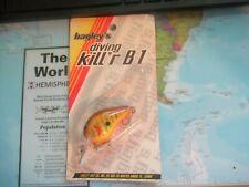 Vintage Bagley's Diving Kill'R B1 Mint On Card Dkb1 Dc9 Great Color!