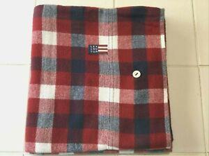 Lexington King Plaid Flannel Pillowcase/Sham Button Closure