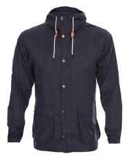 Barbour Chaqueta de abrigo para hombre Barbour bedale Rompevientos Nuevo Azul Con Capucha £ 199 medio