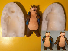 "3D Bear from ""Masha and The Bear"" silicone Mold mould fondant chocolate cake"