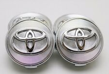 4 NEW TOYOTA SOLARA CAMRY MATRIX COROLLA WHEEL CENTER HUB CAP 02-08 63 mm 2.5 in