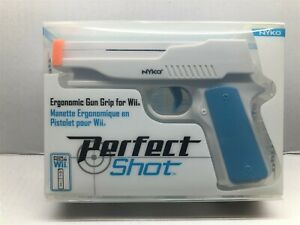 Nyko Perfect Shot Gun for Nintendo Wii Video Games - New Factory Sealed