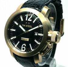TW STEEL. TW100, SWISS AUTOMATIC, 10ATM, GOLD CASE