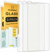 3pack Mr Shield for LG X Power Tempered Glass Screen Protector Top Quality