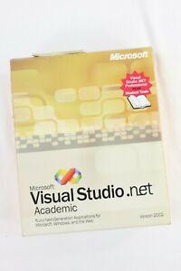 Microsoft Visual Studio.net Academic Student Tools Version 2002