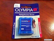OLYMPIA Telefon Akku / Accu 600mAh 3,6V 2/3AA 1052-TA