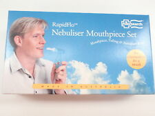 ALLERSEARCH RAPIDFLO NEBULISER MOUTHPIECE SET MOUTHPIECE TUBING & NEBULISER BOWL