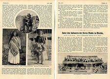 Bajo los indios (huichol) de la sierra madre en méxico histor. foto-Report 1907