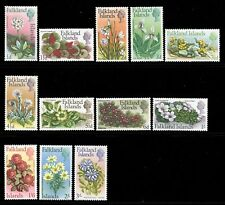 Falkland Islands 1968 QEII Flowers p/set (12v. upto 3/-) mint
