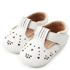 Bebé Niña Princesa Zapatos de cuero con orificios para niños primero Andadores