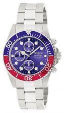 Invicta Men's Pro Diver Chronograph Quartz 200m Stainless Steel Watch 1771