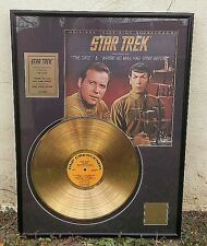 GOLD PLATED RECORDS Star Trek® Original Television Soundtrack THE CAGE