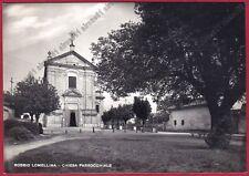 PAVIA ROBBIO LOMELLINA 22 Cartolina FOTOGRAFICA Foto N. MARANGONI MILANO