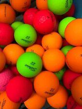 24 x TITLEIST MATTE FINISH COLOURED GOLF BALLS - CLEAN A/B CLEARANCE