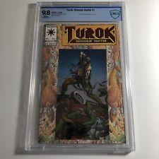 Turok  Dinosaur Hunter #1 CBCS 9.8 - Valiant Comics 1993 Red Foil Logo