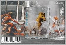 Feuillet F4440 - Fête du timbre 2010 (Cheval) - Protégeons l'eau - 2010