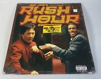 """V.A.- """"Rush Hour"""" Movie Soundtrack 1998 Original Vinyl Record 2LP Def Jam Shrink"""