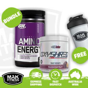 OxyShred & Amino Energy | Bundle | FREE Shaker & Shipping