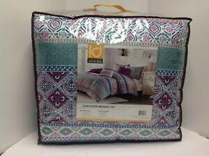 Intelligent Design Joni Comforter Set Twin/Twin XL Size - Purple, Blue, Bohemian
