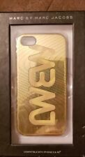 Marc Jacobs iPhone 5 & 5S Case GoldMarc by Marc Jacobs Logo