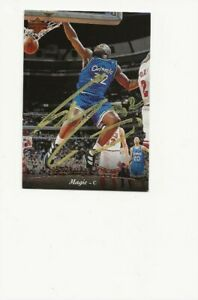 SHAQUILLE   O'NEAL   MAGIC       AUTOGRAPHED    CARD