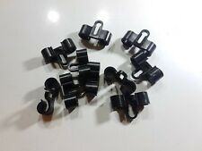 FORD CAPRI MK3 PETROL PIPE CHASSIS CLIPS 2.8i 280 V6 INJECTION FUEL LINE 2 X 8mm