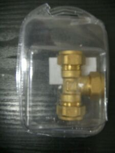 BRASS T-JOINT 15mm *CLEARANCE*
