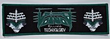 voivod killing technology  SUPERSTRIP      WOVEN  PATCH