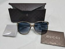 Gucci Authentic Womens Over-sized Acetate Sunglasses Style GG3696S-M NWC