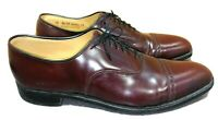 Johnston & Murphy Aristocraft Burgundy Cap Toe Oxford Size 15 2A MSRP $369
