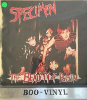 """SPECIMEN """"THE BEAUTY OF POISIN"""" 1983 12"""" GOTH Ex Con Rare"""
