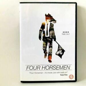Four Horsemen (Region 2 DVD) Noam Chomsky, Ross Ashcroft, Free P&P