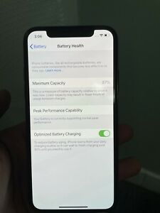 Apple iPhone XS - 256GB - Black (Unlocked) A1921 (CDMA + GSM) Used, NO BOX