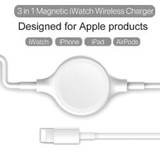 2in1 Portable Wireless Watch Charger Apply for iWatch for iPhone Charging Cable