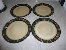 """Sonoma Vallejo Blue Tile Salad Plates 8.25"""" Set of 5"""