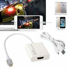 8-pin Lightning To HDMI Adapter SanboH High Definition 1080P Converter Iphone